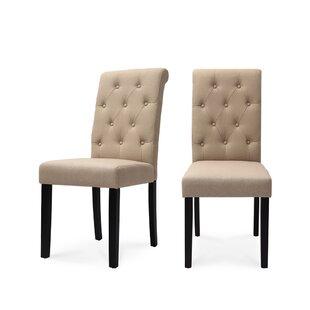 Beraun Upholstered Dining Chair (Set Of 2) By Rosalind Wheeler