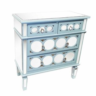 Bayles 4 Drawer Accent Chest by Rosdorf Park
