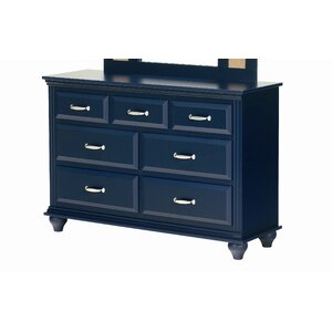 Madison 7 Drawer Double Dresser