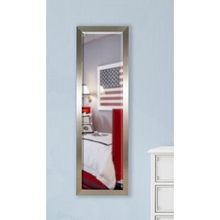 Bargain Silver Petite Full Length Beveled Body Mirror By Wade Logan