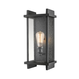 Reviews Beeching Outdoor Sconce By Ivy Bronx