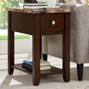 End Table With Storage�