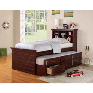 Dolson Bed with Trundle and Drawers