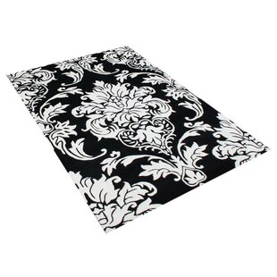 Shop For Vivian Hand-Woven Off-White/Black Area Rug By Threadbind