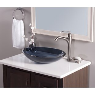 Find the perfect Scempio Glass Oval Vessel Bathroom Sink By Novatto