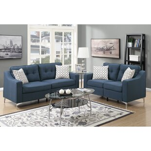 Sebastian 2 Piece Living Room Set by Mercer41