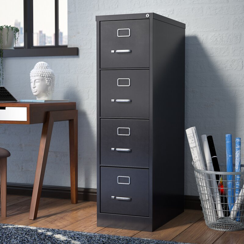 Etonnant Kane 4 Drawer Commercial Letter Size File Cabinet