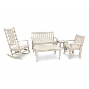 Vineyard 5 Piece Conversation Set