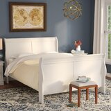 Richard Sleigh Bed by Charlton Home®
