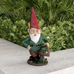 Lamar Garden Gnome Statue By August Grove