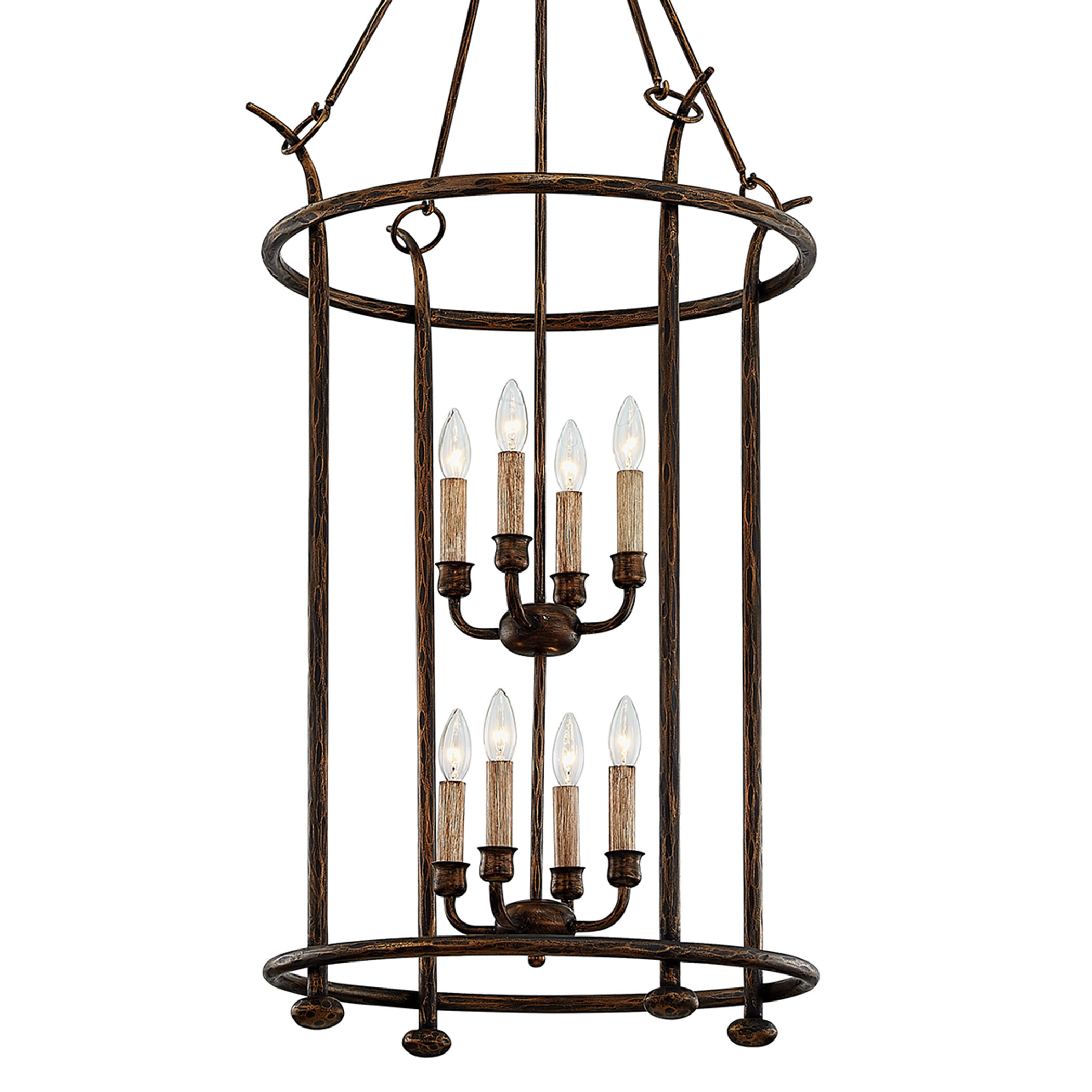 World Menagerie Schmitz 8 Light Lantern Geometric Chandelier Wayfair