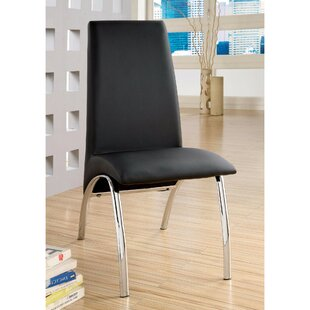 Keppler Contemporary Upholstered Dining Chair (Set of 2)