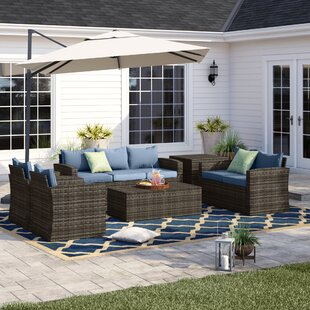 Arlington 6 Piece Sofa Set with Cushions