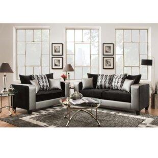 Dilorenzo Modern 2 Piece Living Room Set by Latitude Run