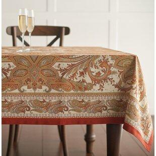 Kashmir Paisley Tablecloth