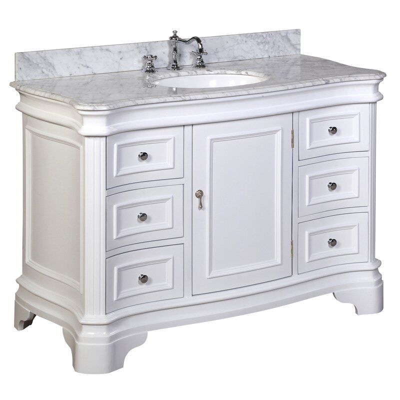 Katherine 48 Single Bathroom Vanity Set