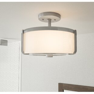 Karon 3-Light Semi Flush Mount..