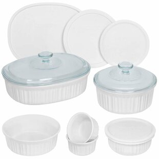 French 12 Container Food Storage Set