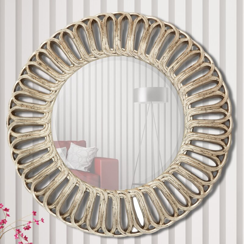 965233bc0ccd Majestic Mirror Stylish Circular Framed Wall Mirror