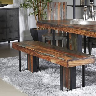 Fredson Wood Dining Bench by Bloomsbury Market