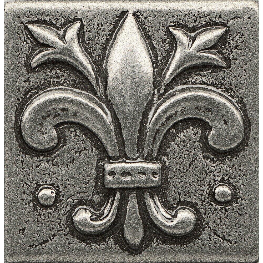 Bedrosians Ambiance 1 88 X 1 88 Resin Insert Flor De Lis Decorative Accent Tile Reviews Wayfair