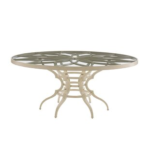 Misty Garden Aluminum Dining Table
