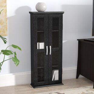 Wood DVD Multimedia Cabinet