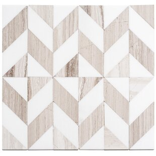 Marble Chevron Tile Wayfair