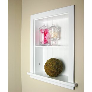 Fox Hollow Furnishings Niche Wall Shelf by Concealed Cabinet