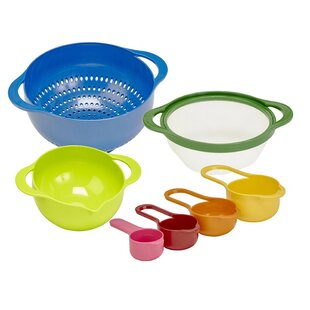 Nesting 7 Piece Plastic Mixing Bowl Set