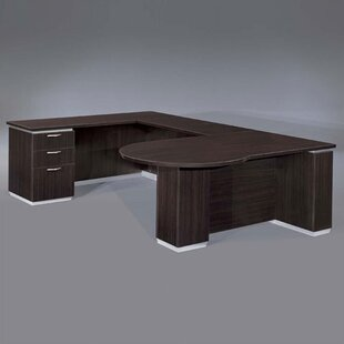 Pimlico U-Shape Executive Desk by Flexsteel Contract