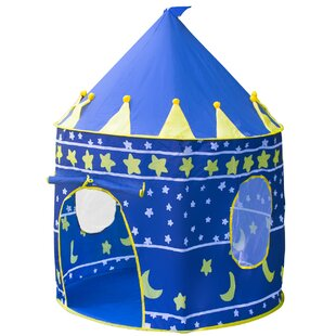 Kids Castle Play Tent with Carrying Bag ByMatney