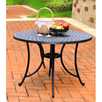 Carmen Aluminum Dining Table by Sol 72 Outdoor Herry Up