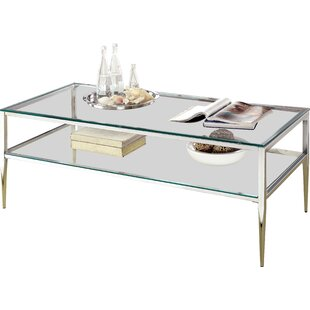Rahil Open Shelf Coffee Table Willa Arlo Interiors