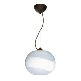 Luna 1-Light Globe Pendant by Besa Lighting