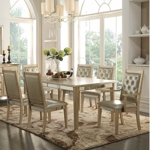 Lynne 7 Pieces Dining Set House of Hampton