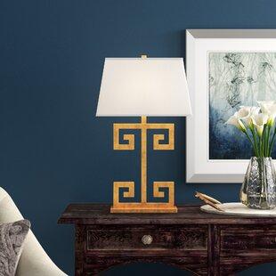 Greek Key 30.5 Table Lamp