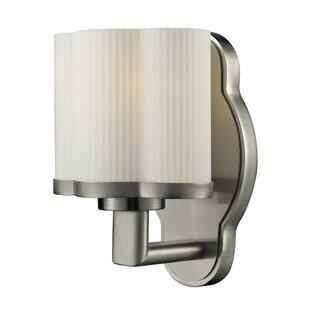 Dennerline 1-Light Bath Sconce by Ebern Designs