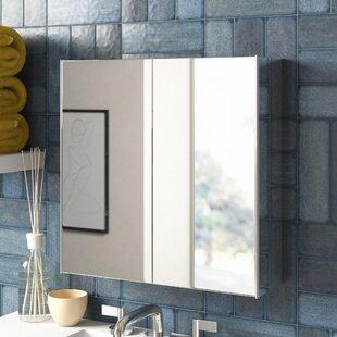 Bathroom Double 45cm X 45cm Recessed Mirror Cabinet By Zipcode Design