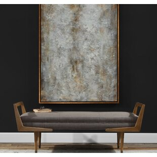 Alessandro Mid-Century Upholstered Bench