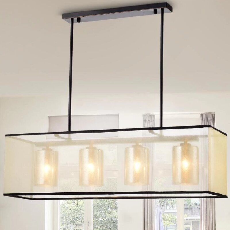 Marine 4 light kitchen island pendant