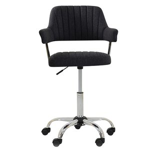 Yale Small Office ...  sc 1 th 225 & Yale Small Office Low-Back Desk Chair With Fabric By DCor Design ...