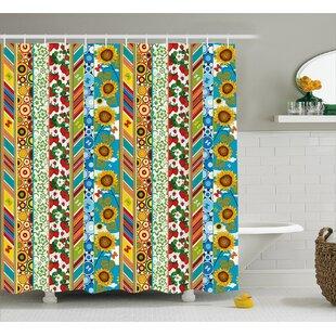 Comparison Beechwood Patchwork Style Spring Shower Curtain ByLatitude Run