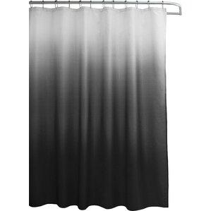 wicklund 13 piece ombre waffle weave shower curtain set