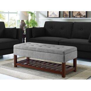 Makowski Upholstered Storage Bench by Ebern Designs