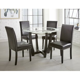 Cotter 5 Piece Dining Set by Wrought Studio