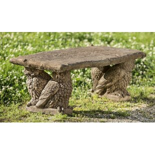 August Grove Pitchel Owl Bench