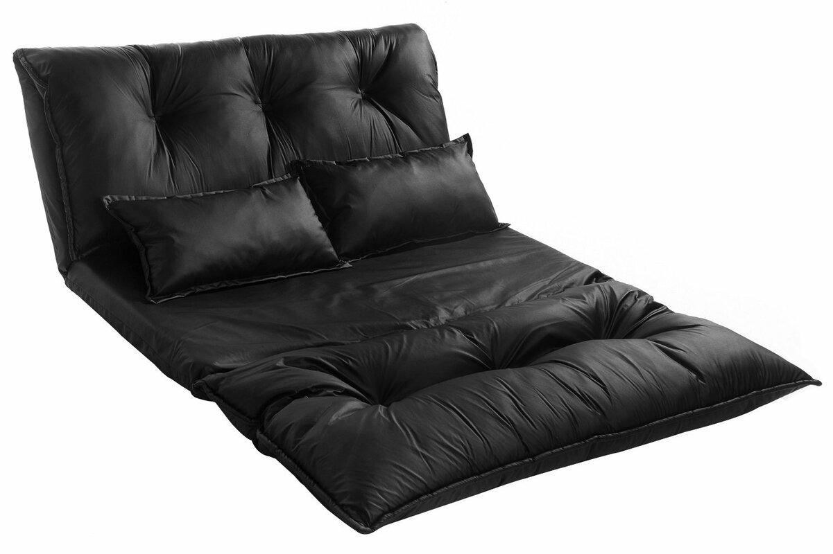 Ebern Designs Boisvert Sleeper Sofa Reviews Wayfair ~ Gray Leather Sleeper Sofa