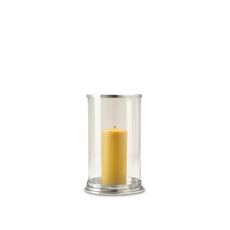 Match Glass Tabletop Hurricane Perigold