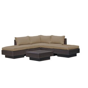 Galina 6 Piece Sectional Set with Cushions